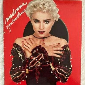 Madonna RARE You Can Dance Songbook Sheet Music